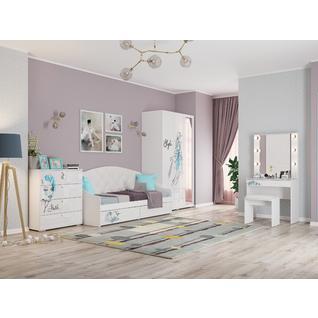 Комплект детской мебели ПМ: МебельСон Гламур К2