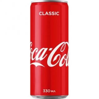Напиток Coca-Cola ж/б 0,33л