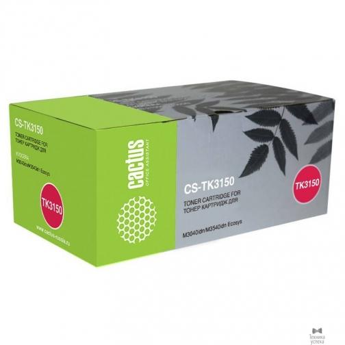 Cactus Cactus TK-3150 Картридж для Kyocera ECOSYS M3040idn/M3540idn, 14,5К 36985850