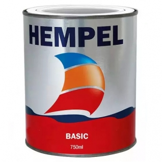 Краска необрастающая Hempel Basic, черная, 0,75 л (10251795)