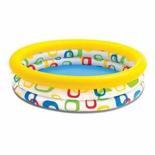 """Бассейн детский, Intex 58448np """"watermelon Pool"""" 3 кольца, 168х38см, 2+"""