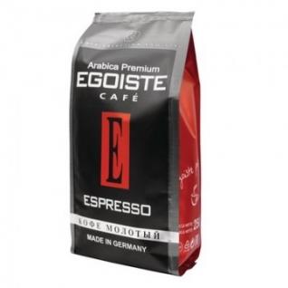 Кофе EGOISTE Espresso молотый,250г