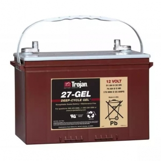 Аккумуляторная батарея глубокого разряда Trojan 27-GEL (76а/ч)
