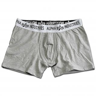 Alpha Industries Шорты боксерские Alpha Industries, цвет серый