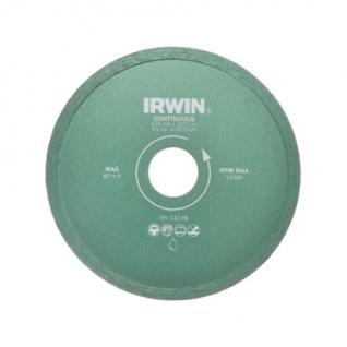 Диск алмазный Irwin 125/22,2 мм сплошной влажная резка