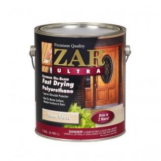 Лак полиуретановый ZAR ULTRA EXTERIOR глянц. 3,78л., в уп. 2 шт.
