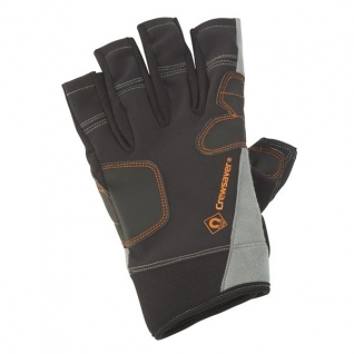 CrewSaver Перчатки короткие чёрные CrewSaver Phase2 Short Finger Glove 6928-S 170 x 100 мм