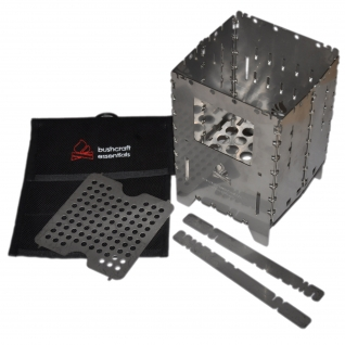 Bushcraft Essentials Печь Bushbox XL Profi, походная