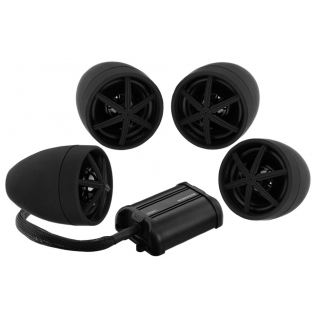 "Аудиосистема BOSS Audio Marine MCBK650b (4 динамика 3"", 1200 Вт. Bluetooth, пульт) BOSS AUDIO"