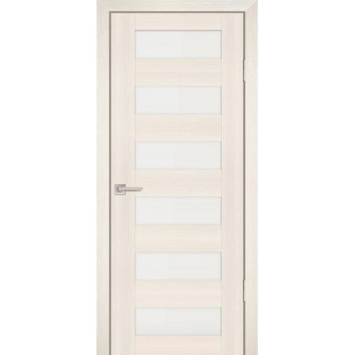 Дверное полотно Profilo Porte PS-35 Цвет Дуб перламутровый, Мокко, Белый сатинат 6647528