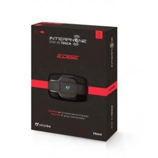 Мото - bluetooth гарнитура - Interphone EDGE - (комплект из 1 шт.)
