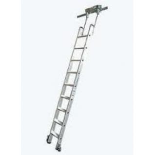 Лестница STABILO для стеллажей для трубчатой шины, 8 ступ.