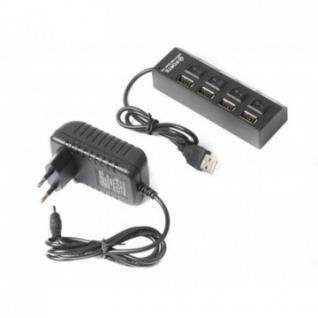 Разветвитель USB 2.0 Gembird UHB-U2P4-02, 4 порта