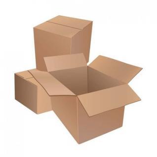 Короб картонный 210х140х120, Т22 бурый 10 шт./уп
