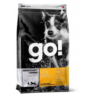 GO! NATURAL Holistic GO! Корм Для Щенков и Собак с Цельной Уткой и овсянкой (Sensitivity + Shine Duck Dog Recipe 22/12) 2,72кг.