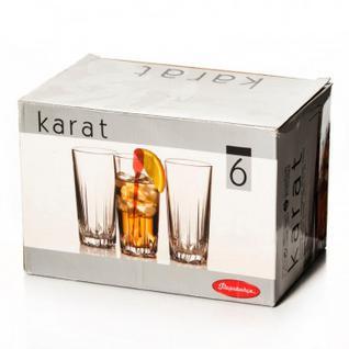 Набор стаканов КАРАТ 330мл высокие 6шт/уп (52888B)