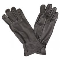 Made in Germany Перчатки кожаные, США, цвет коричневый, б/у
