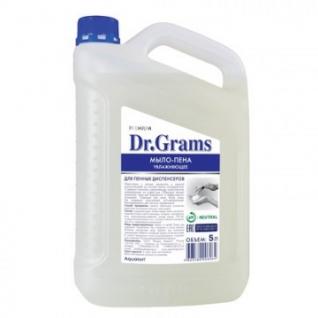 Мыло жидкое пенное Dr.Grams увлажняющее, 5 л.