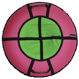 Тюбинг Hubster ринг хайп розовый-салатовый (90см)