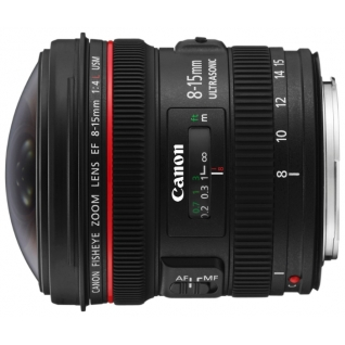 Canon EF 8-15mm f/4.0L Fisheye USM*