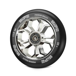 Колесо Hipe 01 Light 110mm, серебро/черный
