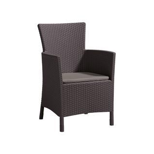 Плетеное садовое кресло из ротанга Keter IOWA 17197853