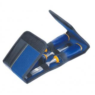 Стамески Irwin набор MS500 6,12,20 мм в мягкой сумке