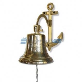 """Сувенирная рында """"Титаник"""", корабельный колокол, d 18 см, цвет золото"""