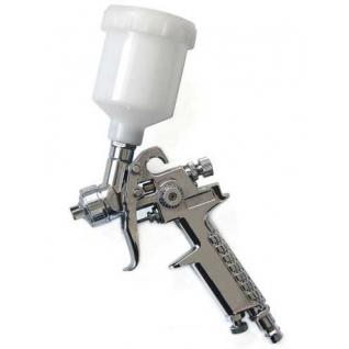 Краскораспылитель с верхним пластиковым бачком (бачок 120мл, сопло 0.8мм) Partner
