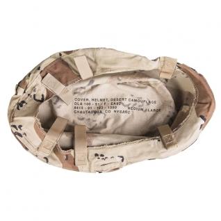 Чехол на шлем, 6-цветный, камуфляж пустынный, б/у