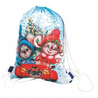 Новогодний сладкий подарок Веселая Семейка игрушка-Рюкзак 1000гр П1903 Лориан