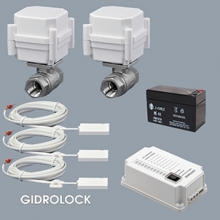 "Комплект для установки квартира - 2 GIDROLOCK ULTIMATE - ""BL"""
