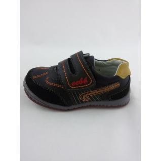 MF-8547 кроссовки черно ораньжевые на липе ) 22-27 (22) Мифёр