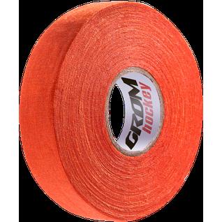 Лента хоккейная для крюка, Grom 24мм х 25м, оранжевый