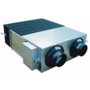 Приточно-вытяжная установка AIR SC LHE-100W с рекуперацией, автоматика, ПУ