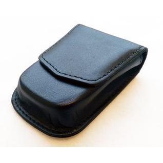 Противоугонный экранирующий сдвоенный чехол для брелка иммобилайзера и метки ОС. Из формованной кожи (Keyless2-85*47*20) DEKOM
