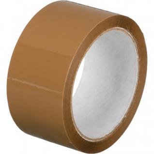 Клейкая лента упаковочная 48мм х 55м 45мкм коричневая