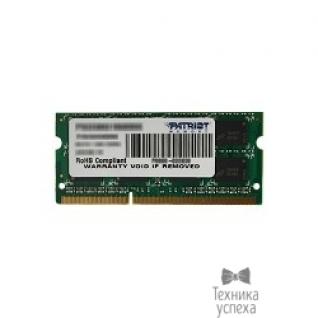 Patriot Patriot DDR3 SODIMM 8GB PSD38G16002S (PC3-12800, 1600MHz, 1.5V)