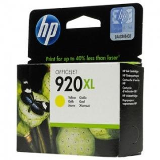 Картридж струйный HP 920XL CD974AE жел. пов.емк. для OJ 6000