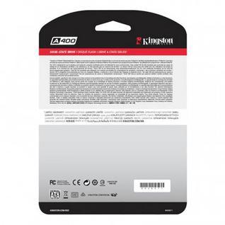 Жесткий диск SSD Kingston SATA3 480G SA400S37/480G A400 2.5(SA400S37/480G)