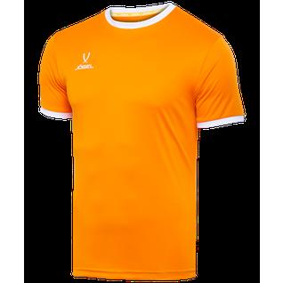 Футболка футбольная Jögel Camp Origin Jft-1020-o1-k, оранжевый/белый , детская размер YL
