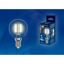 Uniel LED-G45-6W/WW/E14/CL PLS02WH картон