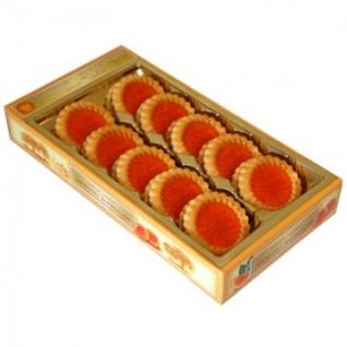 Печенье Бискотти с апельсиновым мармеладом 235г