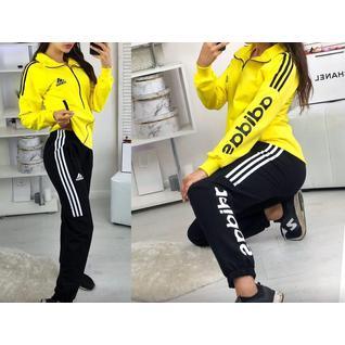 Лёгкий женский спортивный костюм Adidas р.40-54