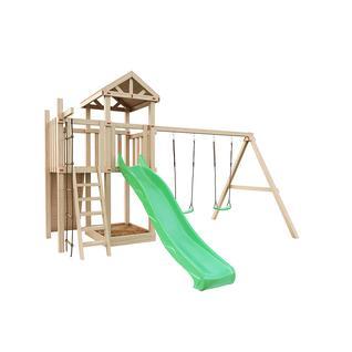 """Igragrad Детская деревянная площадка для дачи """"Большая Панда Фани"""""""