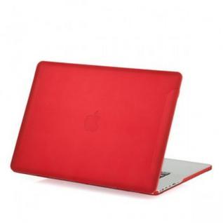 Защитный чехол-накладка BTA-Workshop для Apple MacBook Pro Retina 15 матовая красная