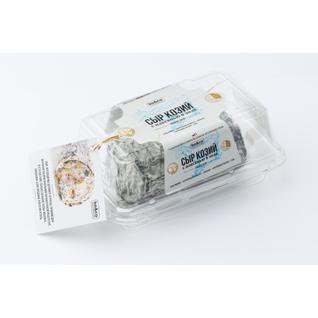 ТМ KO&CO Сыр мягкий из козьего молока с плесенью Бюш Де Шевр в золе 85 гр.
