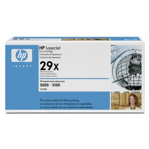 Картридж C4129X №29X для HP LJ 5000, 5100 series (черный, 10000 стр.) 4413-01 Hewlett-Packard 851916 1