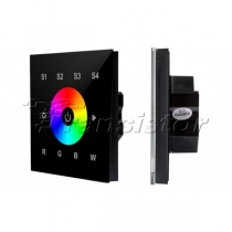 Arlight Панель Sens SR-2820B-AC-RF-IN Black (220V,RGBW,1 зона)