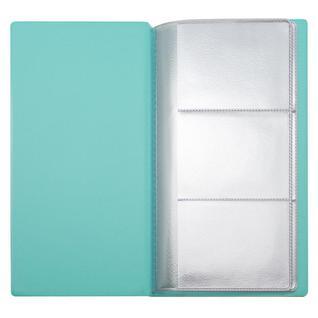 Визитница настольная Attache на 36 визиток ПВХ цвет мята